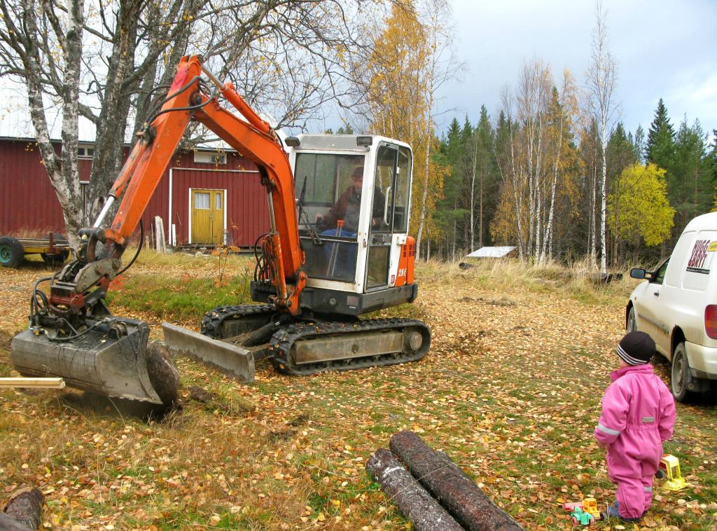 grävning lerberg 6 okt 001