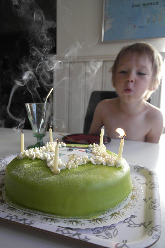 Dante 5 år